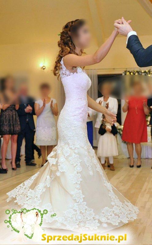 3b7bffe229 Sprzeda suknie ślubną Busko Zdrój ...
