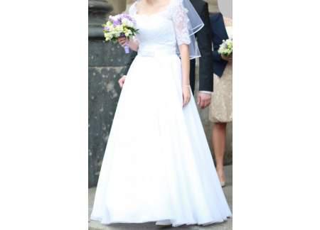Suknia ślubna Gala Bianka Agora Kolekcja 2013 Piaseczno