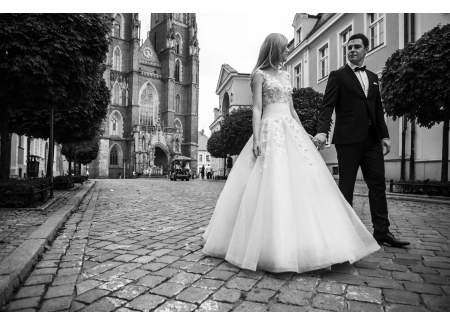 Zjawiskowa Suknia ślubna Agora 14 13 Wrocław