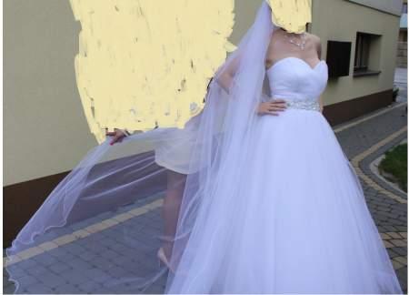 83020a124f Suknia Ślubna CARMEN znajnowszej kolekcji SPOSA + gratis 2 welony Radom