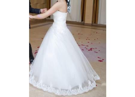 Suknia ślubna Koronka Perełki Princessa Gratis Do Niej Rzeszów