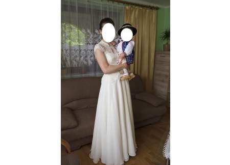 Suknia ślubna Gala Bianka Kolor Ivory R 36 38 Nowy Sącz