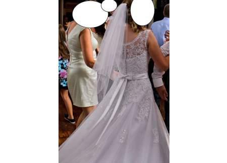 Suknia ślubna Annais Bridal Audrey O Rozmiarze 3638 Jak Nowa