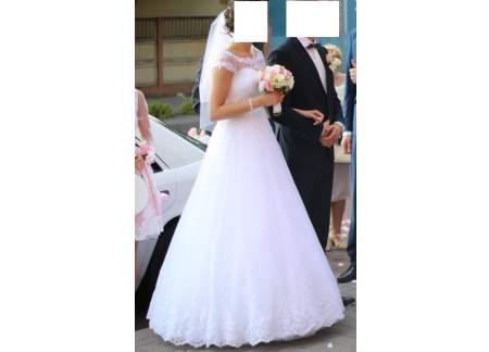 7c6d8d8038 Śliczna suknia ślubna firmy Duber z kolekcji 2016 . W cenia bolerko  ) Toruń