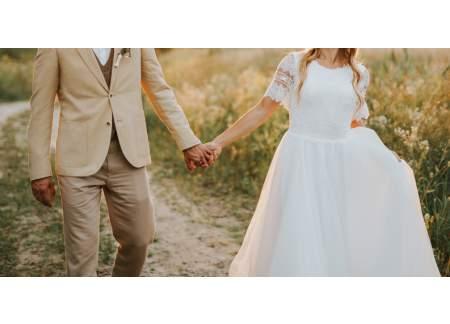 Suknia ślubna Boho Rustic Rustykalna Indie Ethnic Prosta Zwiewna