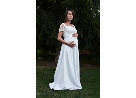 Suknia ślubna Ciążowa Suknia ślubna Dla Kobiet W Ciąży I Nie Tylko