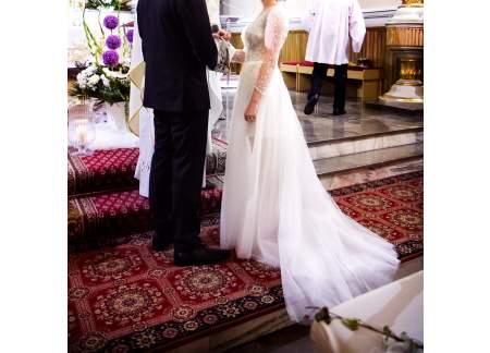 Niepowtarzalna Oryginalna I Wyjątkowa Suknia ślubna Projektu Violi