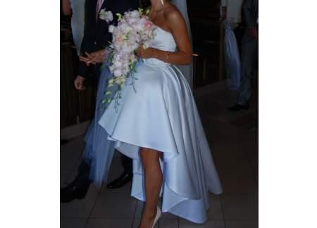 c671ff1413 Sprzedam przepiękną suknię ślubną szytą na wzór LaMania (Gdynia)