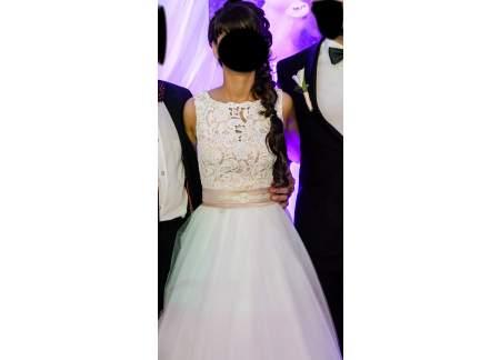 224b448416 Śliczna Suknia Ślubna Karina (Zawiercie)