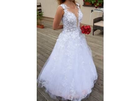 Nieużywana Suknia ślubna Z Kolekcji Agora 17 37 Welon 25m Gratis