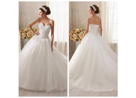 Suknia ślubna Kryształki Swarovskiego Swarovski Princessa 36 38