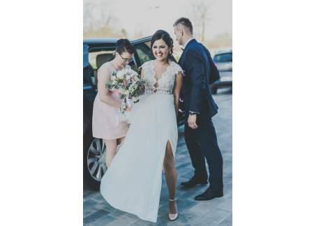 Suknia ślubna Annais Bridal Kolekcja By Ola La Model Espressia 2018