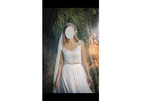 1d0d4b7270 Dwuczęściowa suknia ślubna