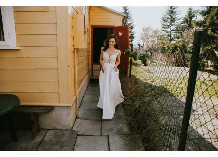 a6be7e5cee Suknia ślubna Catarina Kordas Rozmiar 36 j Selena Milla Nova Świątniki Górne