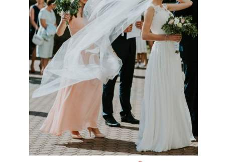 Dwa Welony Suknia ślubna Elizabeth Passion Rozm 3234 Xsxxs