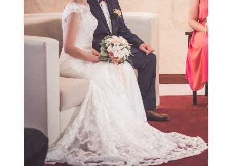 Suknia ślubna Tom Sebastien Warszawa