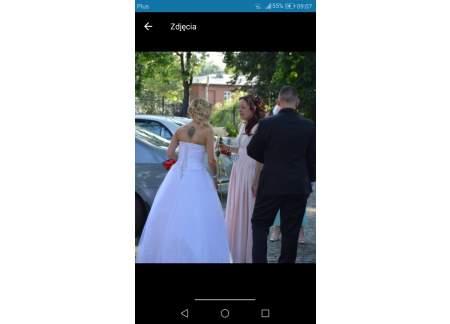 Sprzedam Suknie ślubną Suknia Była Raz Założona Włocławek