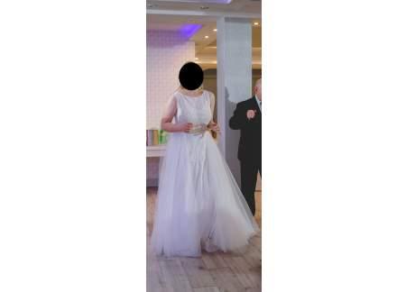 2e20a7e429 Suknia ślubna Amy Love Bridal z kolekcji White-Code 2018 model Delphine  Poznań