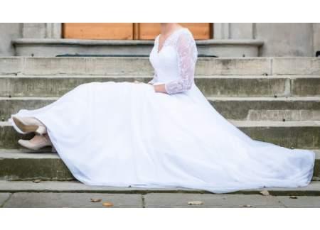 7f3ba8738a Sprzedam suknię ślubną Honorata (Piaseczno)