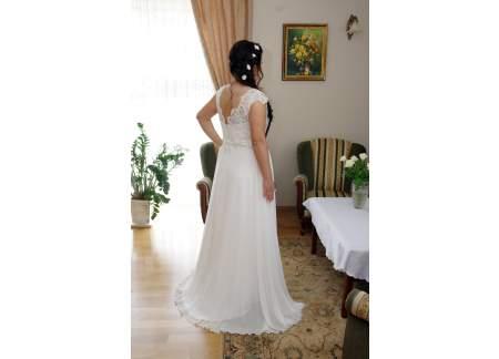 406b5585dd Sprzedam suknię ślubną (Skierniewice)