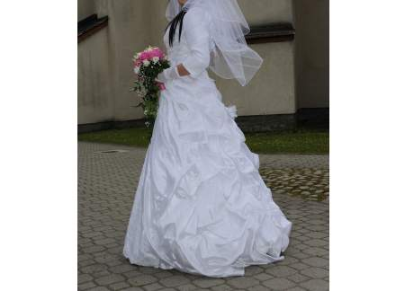 Suknia ślubna Z Kryształkami Nowy Targ