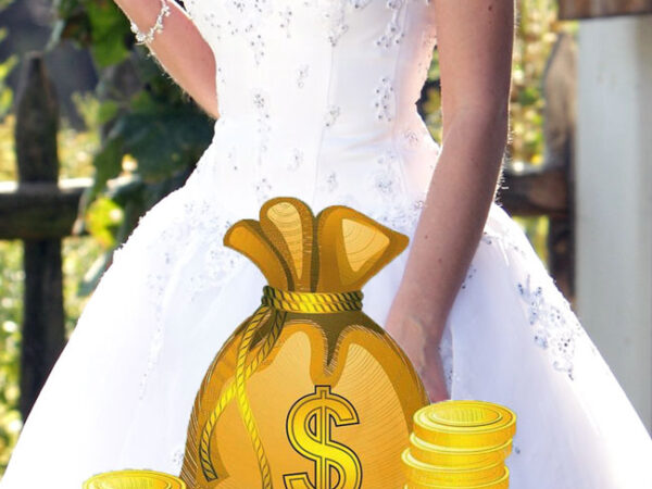 Sprzedaż sukni ślubnej