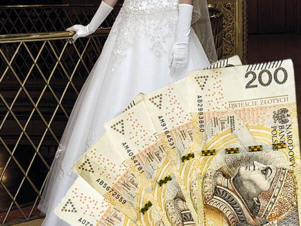 Za ile sprzedać używaną suknię ślubną