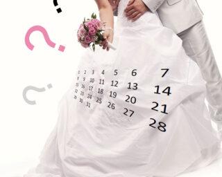 Suknia ślubna oraz znaki zapytania kiedy kupić suknię