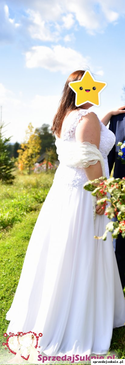 Suknia Ślubna Plus Size