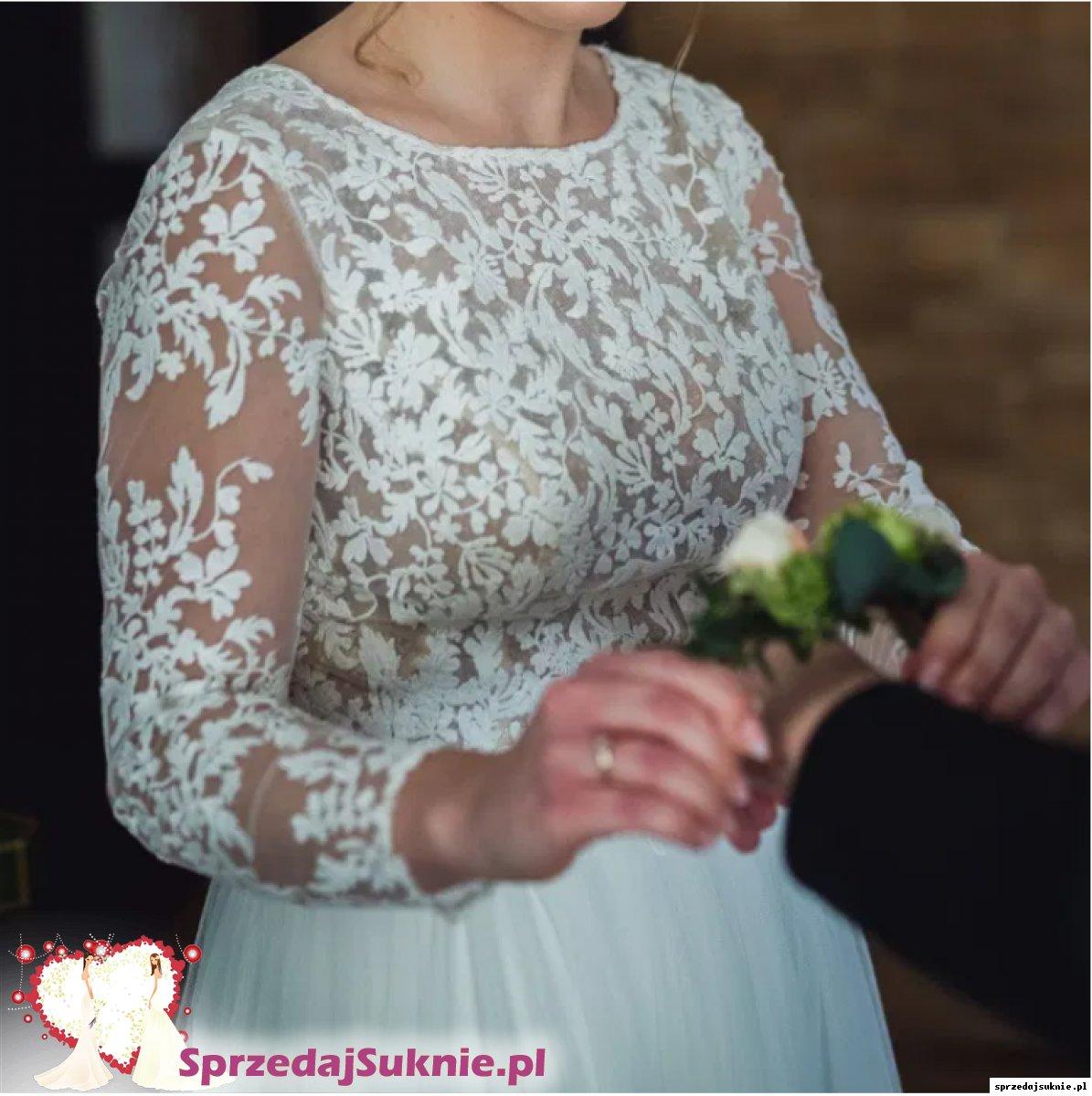 Suknia ślubna Jimmi, kolor Ivory, r. 36/38