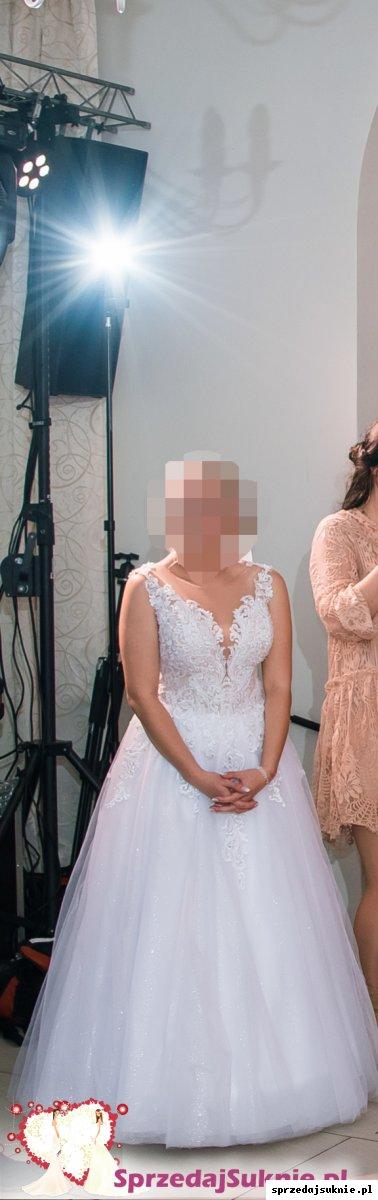 Suknia Ślubna 152cm +6cm