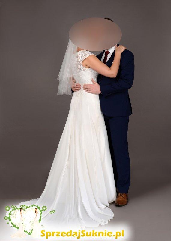 Suknia ślubna Leonice - klasyczna i elegancka