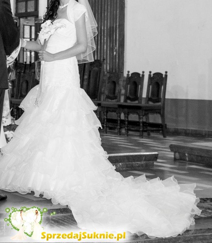 NOWA CENA Suknia ślubna jak nowa, pierwszy właściciel
