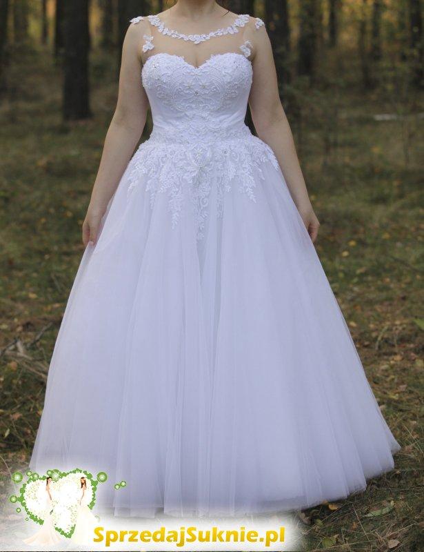 Suknia Ślubna Rozmiar 42 + Welon