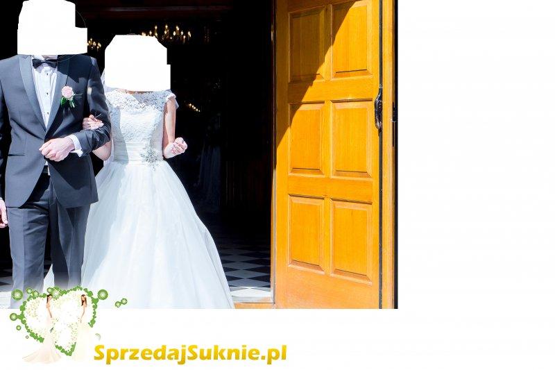 Suknia ślubna princessa - IGAR - rozmiar S