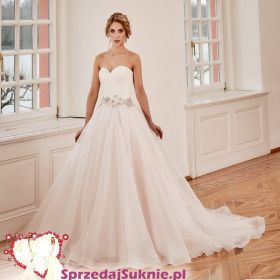 Suknia ślubna - princeska