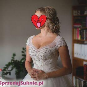 Przepiękna, zwiewna suknia ślubna :)