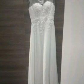Nowa Śliczna suknia  z perełkami