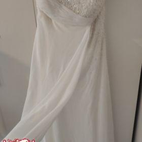 Nowa suknia ślubna r.14 idealnie modeluje sylwetkę i brzuszek