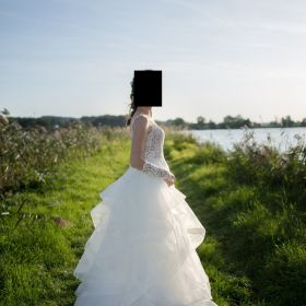 suknia ślubna 3 w 1