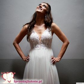 Suknia ślubna Elisabeth Passion ivory boho rustikal