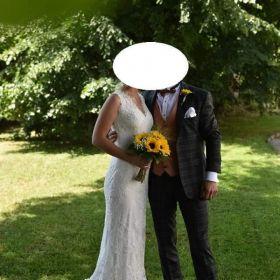 Suknia ślubna syrenka Elizabeth passion 4066t