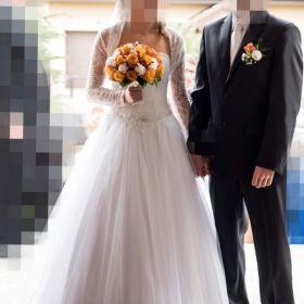 Biała suknia ślubna Princessa 36/38