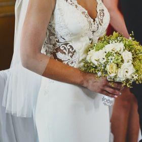 Suknia Ślubna Justin Alexander 11023 r. 8 + GRATISY
