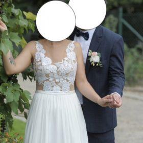 Sprzedam suknię ślubną boho/rustykalną