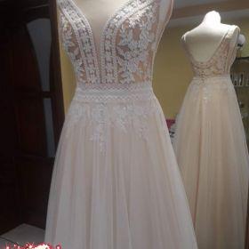 Piękna Glorietta, suknia ślubna boho