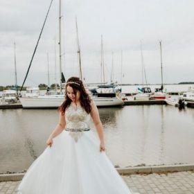 Suknia ślubna z salonu Adriana Reina w Szczecinie