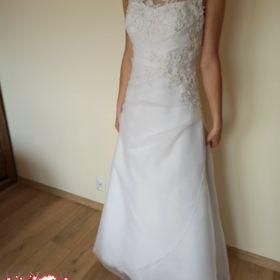 Suknia ślubna, r.36, litera A