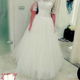 Suknia ślubna + piękny welon