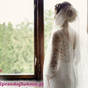 Koronkowa suknia ślubna welon gratis :)